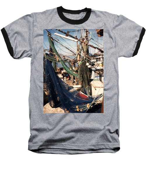 Fishing Nets Baseball T-Shirt