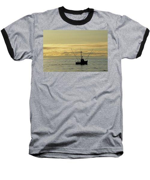 Fishing Off Santa Cruz Baseball T-Shirt
