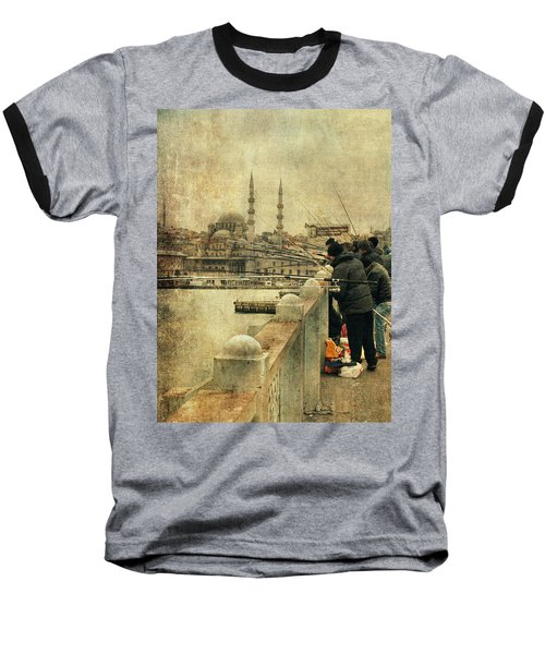 Fishing On The Bosphorus Baseball T-Shirt