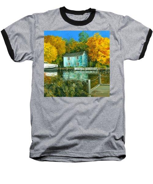 Fishing Shanty Baseball T-Shirt