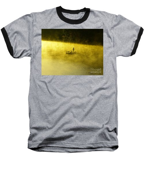 Fishing The Prettyboy Reservoir Baseball T-Shirt