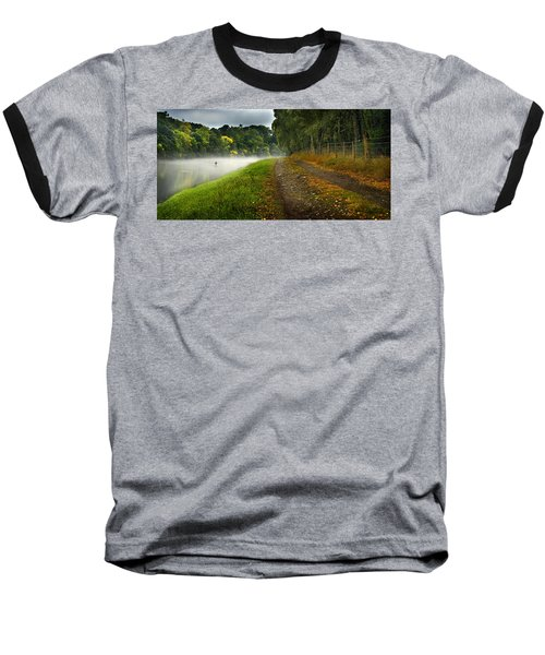 Fishing The River Beauly Baseball T-Shirt