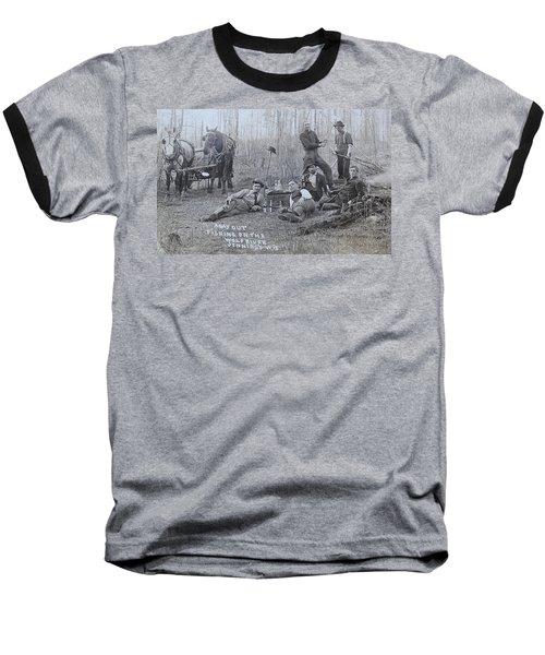 Fishing With The Boys Baseball T-Shirt