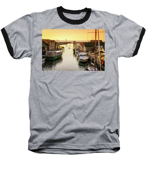 Baseball T-Shirt featuring the photograph Fishtown by Alexey Stiop