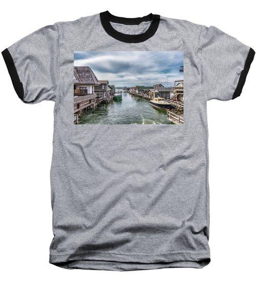 Fishtown Michigan In Leland Baseball T-Shirt
