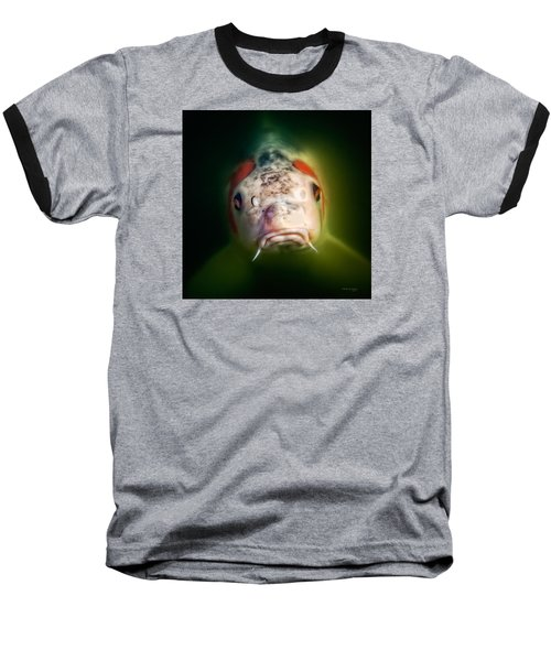 Here's Looking At You Baseball T-Shirt by Denis Lemay