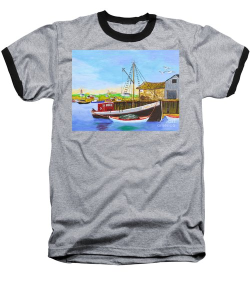Fitting Out For Seining Baseball T-Shirt by Bill Hubbard