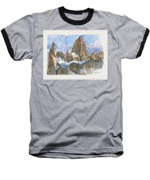 Fitz Roy, Patagonia Baseball T-Shirt