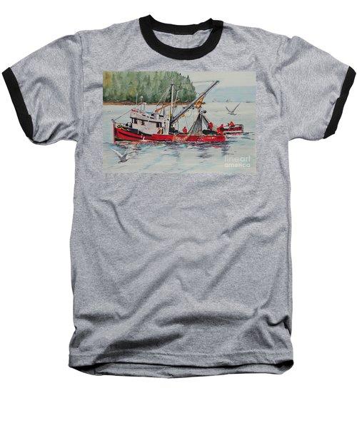 Five Miles Out Of Valdez Baseball T-Shirt