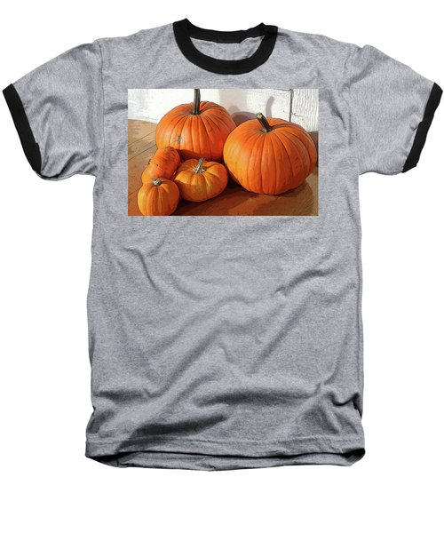 Five Pumpkins Baseball T-Shirt