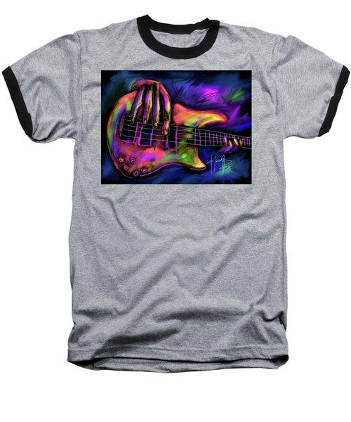 Five String Bass Baseball T-Shirt