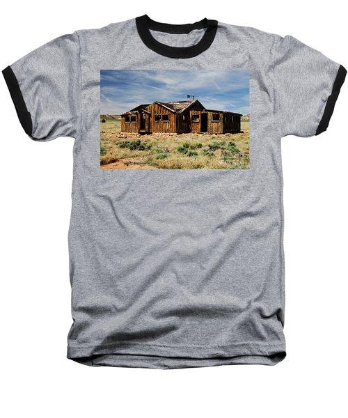 Fixer-upper Baseball T-Shirt by Kathy McClure