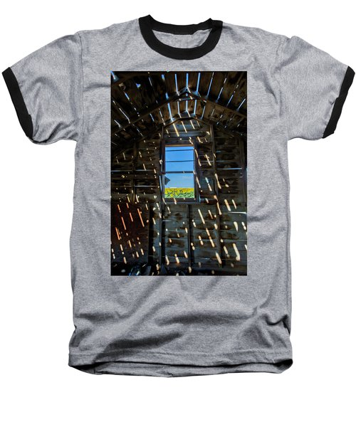 Baseball T-Shirt featuring the photograph Fixer Upper With A View by Kristal Kraft
