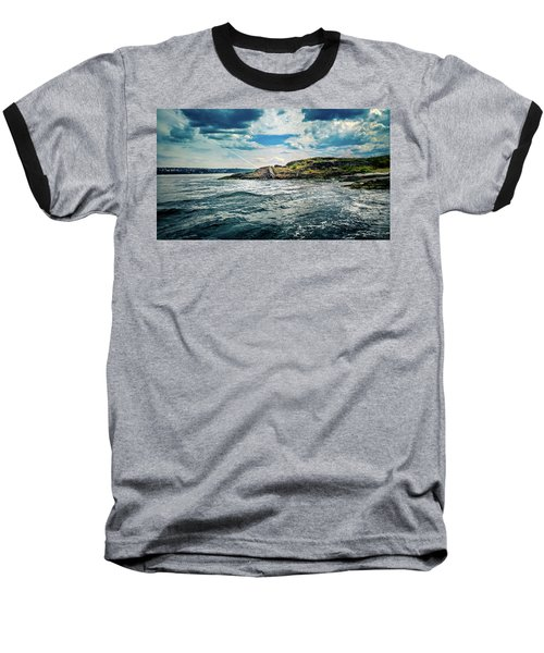 Fjord From The Ferry Baseball T-Shirt