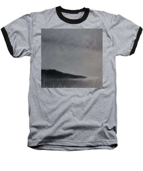 Fjord Landscape Baseball T-Shirt by Tone Aanderaa