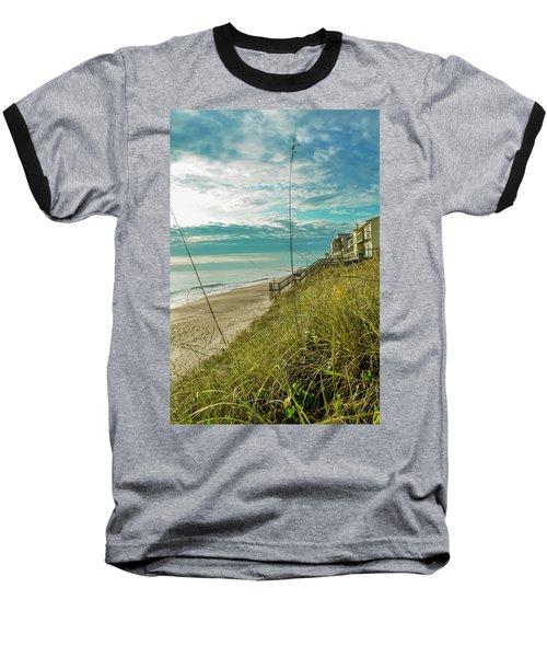 St Aug Beach Baseball T-Shirt