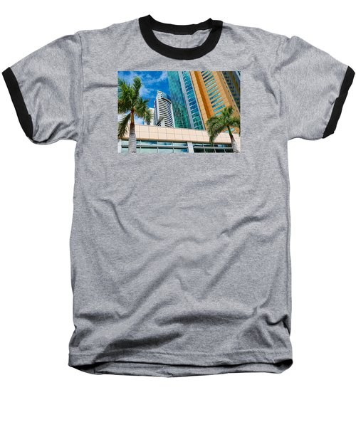 Fla-150531-nd800e-25113-color Baseball T-Shirt by Fernando Lopez Arbarello