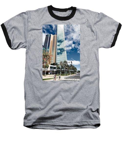 Fla-150531-nd800e-25121-color Baseball T-Shirt by Fernando Lopez Arbarello