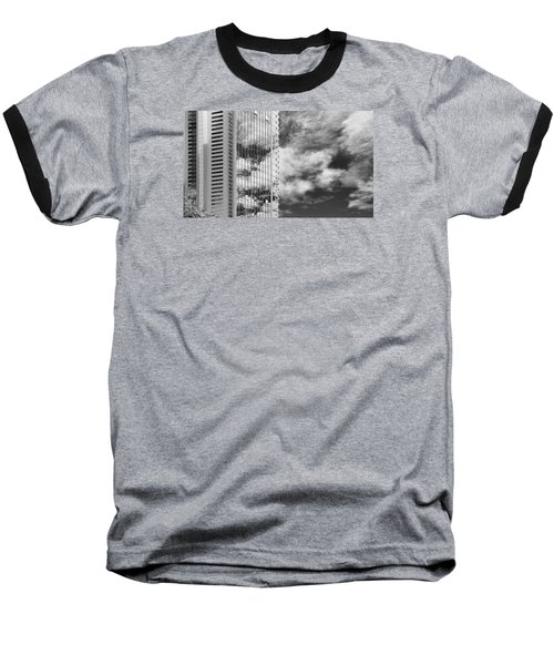 Fla-150531-nd800e-25123-bw Baseball T-Shirt by Fernando Lopez Arbarello