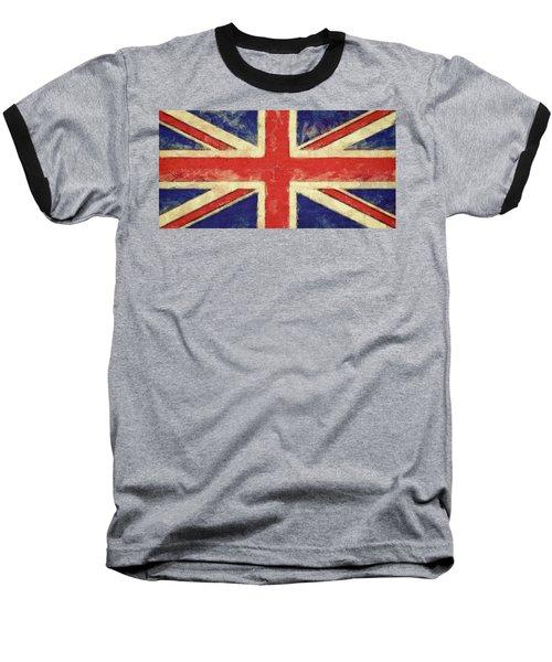 Flag Of The United Kingdom Baseball T-Shirt