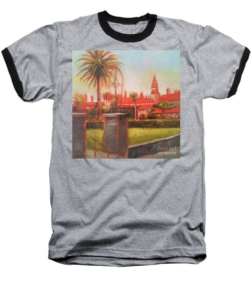 Flagler College Baseball T-Shirt by Mary Hubley