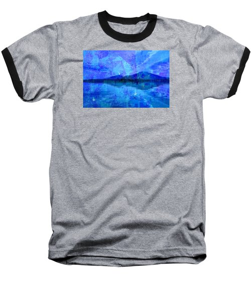 Flagstaff Lake Blu Baseball T-Shirt