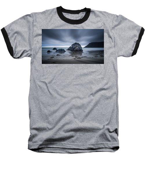 Flakstad Beach Baseball T-Shirt