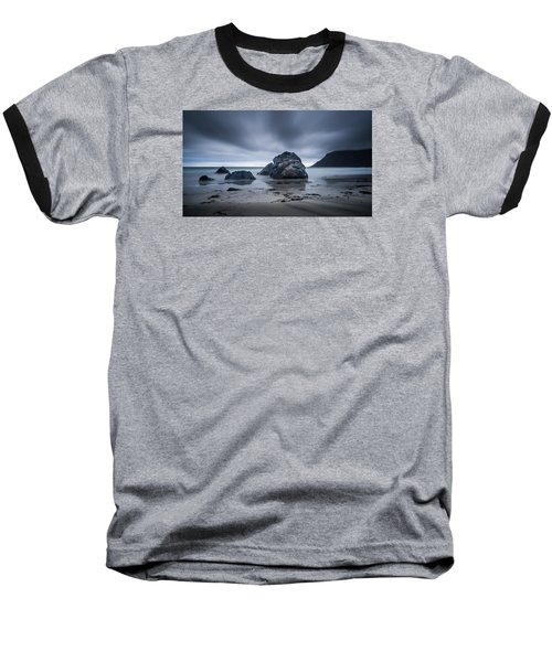 Flakstad Beach Baseball T-Shirt