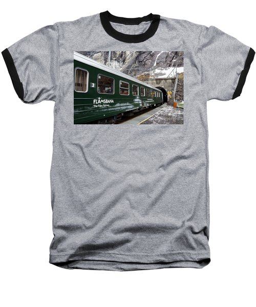 Flam Railway Baseball T-Shirt
