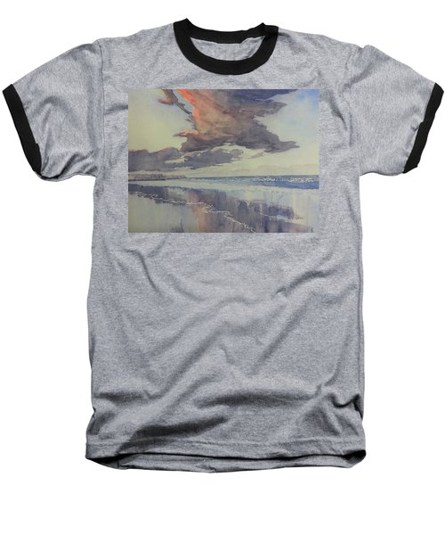 Flamborough Head From Fraisthorpe Beach Baseball T-Shirt