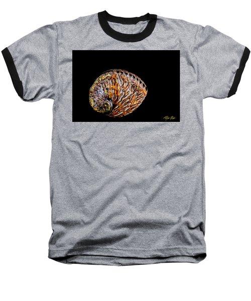 Flame Abalone Baseball T-Shirt