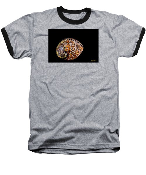 Flame Abalone Baseball T-Shirt