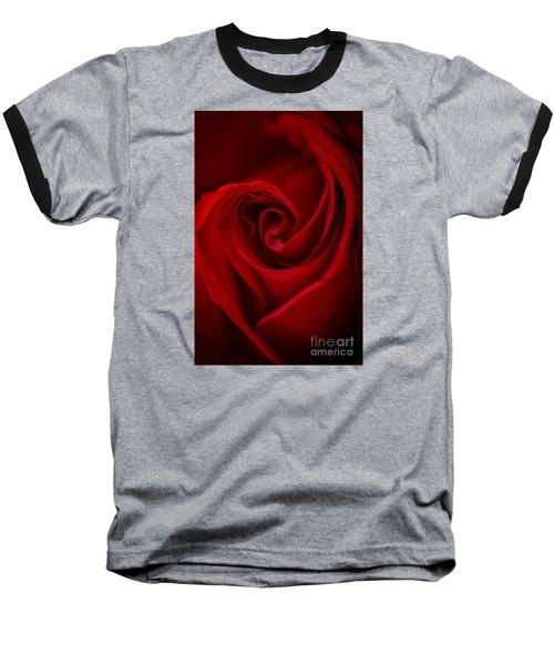 Flame Baseball T-Shirt by Amy Porter