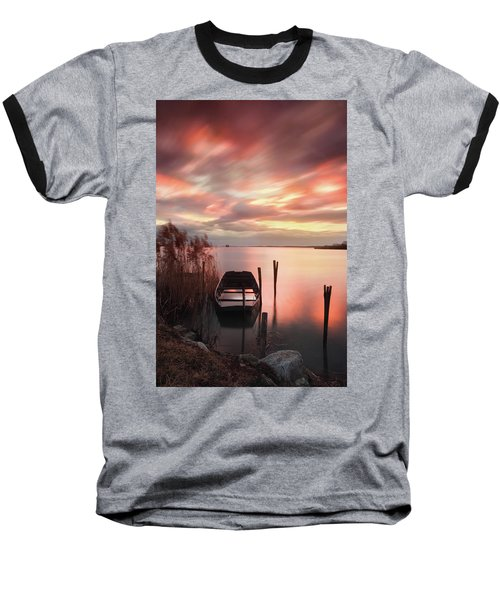 Flame In The Darkness Baseball T-Shirt