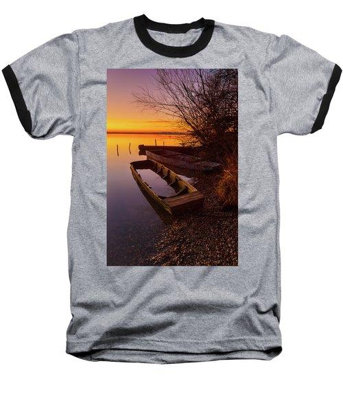 Flame Of Dawn Baseball T-Shirt