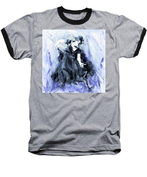 Baseball T-Shirt featuring the painting Flamenco Dancer Art 45h by Gull G