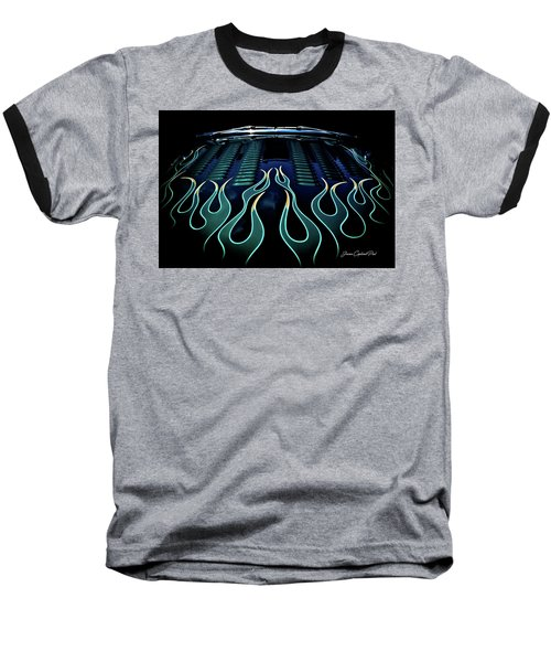 Flames Baseball T-Shirt