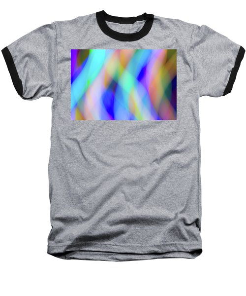 Flames Of Iridescence Baseball T-Shirt