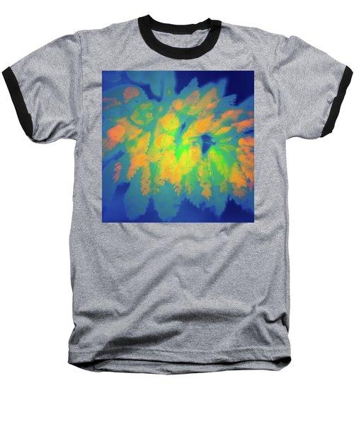 Baseball T-Shirt featuring the photograph Flaming Foliage 2 by Ari Salmela
