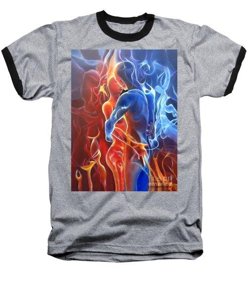 Flaming Lovers Baseball T-Shirt