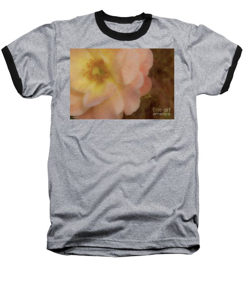 Baseball T-Shirt featuring the photograph Flaming Rose by Phil Mancuso