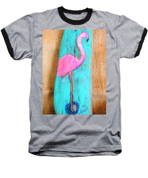 Flamingo Baseball T-Shirt