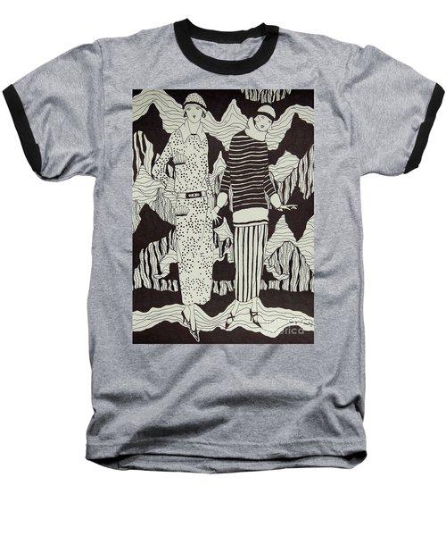 Flapper Girls Baseball T-Shirt