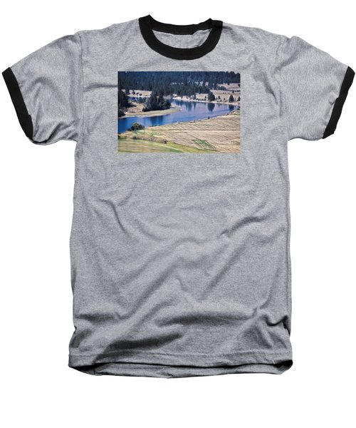 Flathead River 1 Baseball T-Shirt