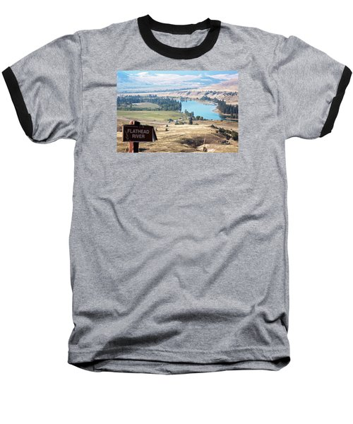 Flathead River 4 Baseball T-Shirt