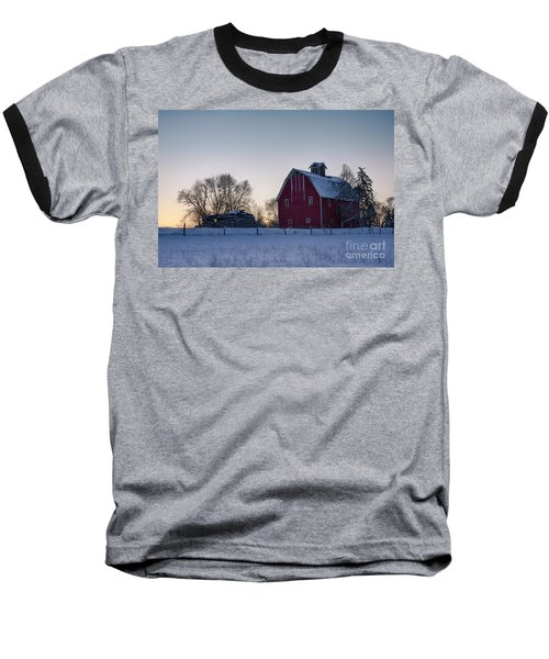 Flathead Valley Dawn Baseball T-Shirt