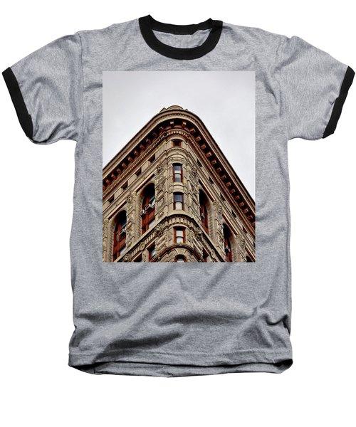 Flatiron Building Detail Baseball T-Shirt