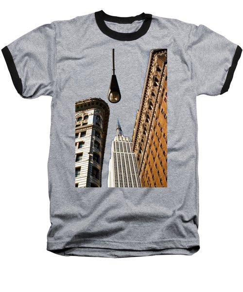 Flatiron District Baseball T-Shirt by Paul Lamonica