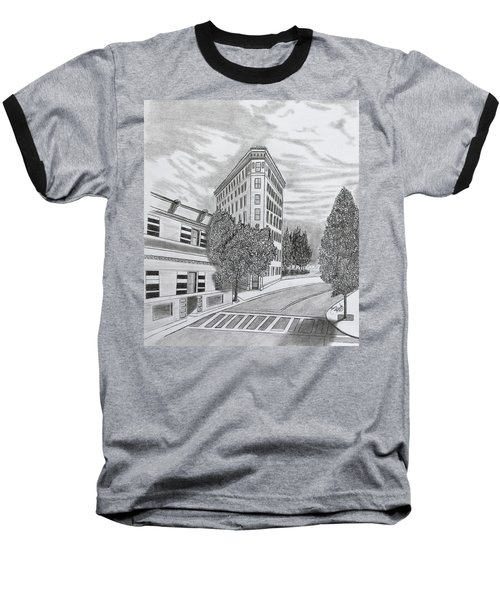 Flatiron In Asheville  Baseball T-Shirt