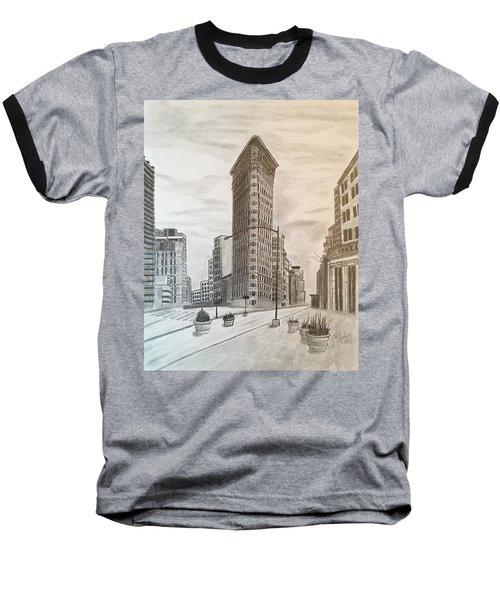 Flatiron Study Baseball T-Shirt by Tony Clark